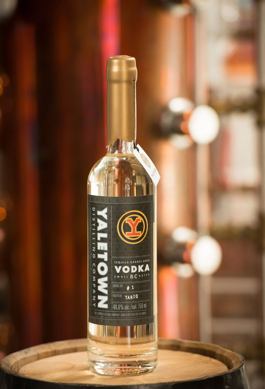 Tequila Barrel Aged Vodka